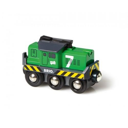 BRIO Battery Powered Freight Engine (33214)