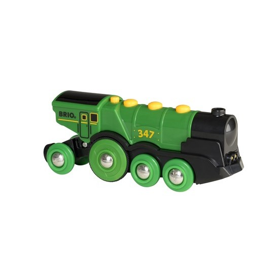 BRIO Big Green Action Locomotive (33593)