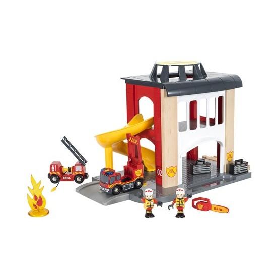 BRIO Fire Station (33833)