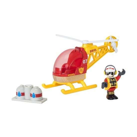 BRIO Firefighter Helicopter (33797)