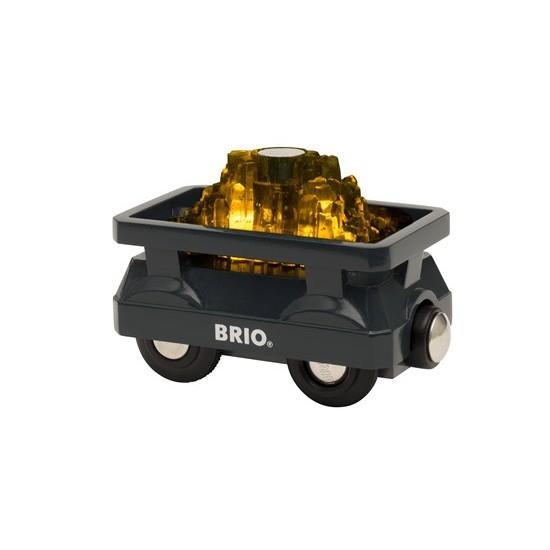 BRIO Light Up Gold Wagon (33896)
