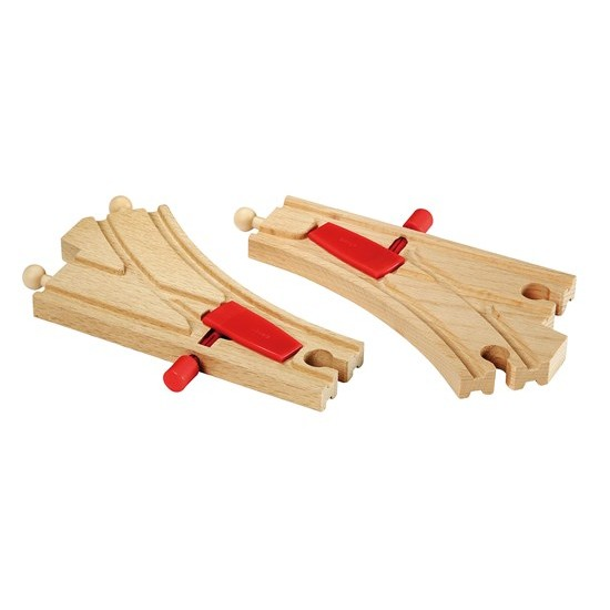 BRIO Mechanical Switches for railway (33344)