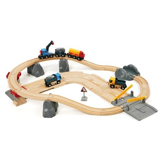 BRIO Rail & Road Loading Set (33210)