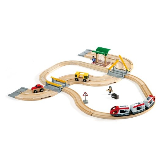 BRIO Rail & Road Travel Set (33209)