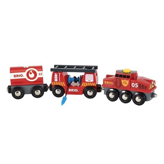 BRIO Rescue Firefighting Train (33844)