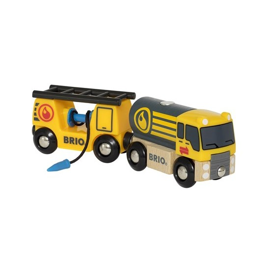 BRIO Tanker Truck with Wagon (33907)