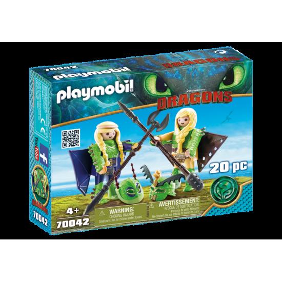 PLAYMOBIL 70042Astrid with Hobgobbler