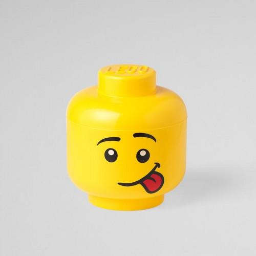 """R.C. LEGO Storage Head """"Silly""""-RC40311726"""