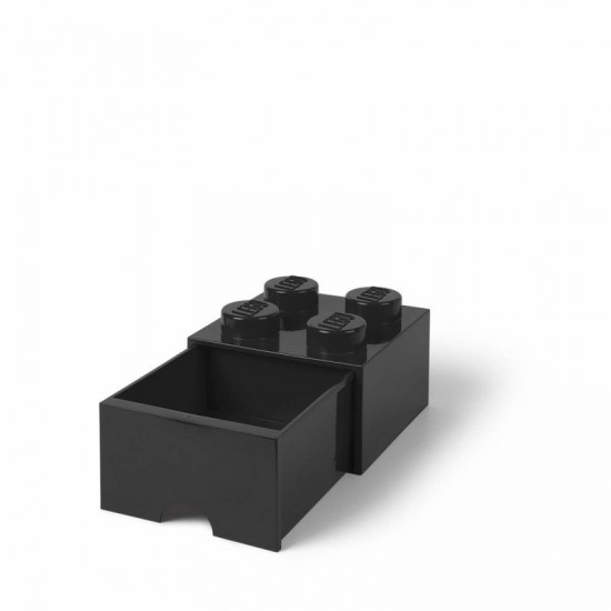 Room Copenhagen LEGO Brick Drawer 4 black - RC40051733