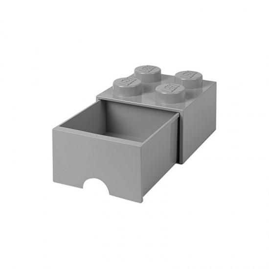 Room Copenhagen LEGO brick drawer 4, grey RC40051740