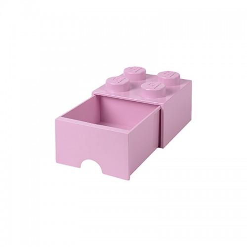 Room Copenhagen LEGO Brick Drawer 4 light pink - RC40051738