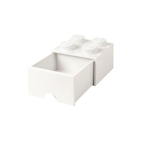 Room Copenhagen LEGO Brick Drawer 4 white - RC40051735