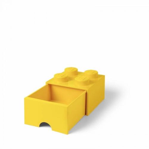 Room Copenhagen LEGO Brick Drawer 4 yellow-RC40051732