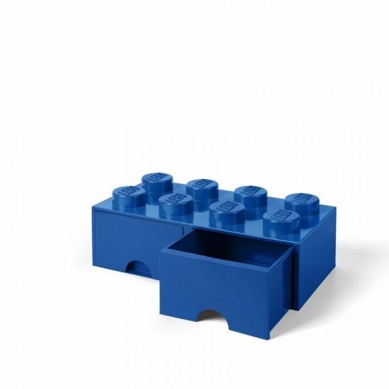 Room Copenhagen LEGO Brick Drawer 8 blue - RC40061731