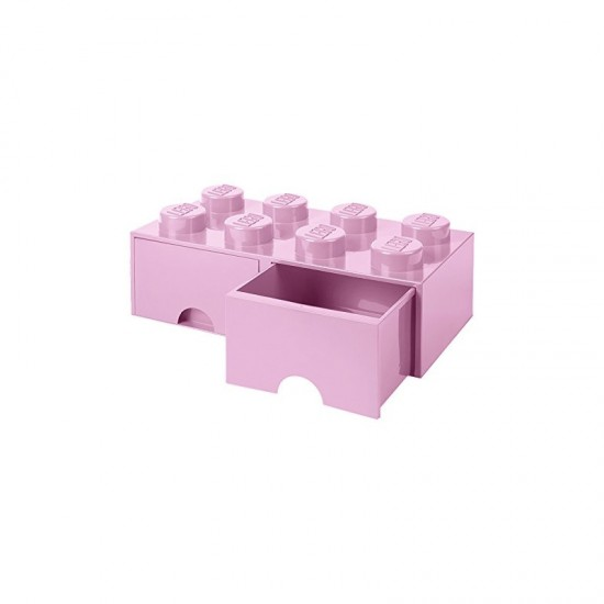 Room Copenhagen LEGO Brick Drawer 8 light pink - RC40061738