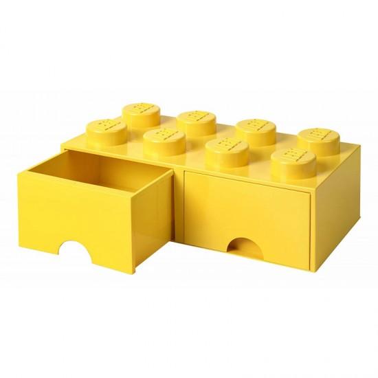 Room Copenhagen LEGO Brick Drawer 8 yellow - RC40061732