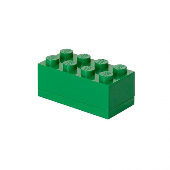 Room Copenhagen LEGO Mini Box 8 green - RC40121734