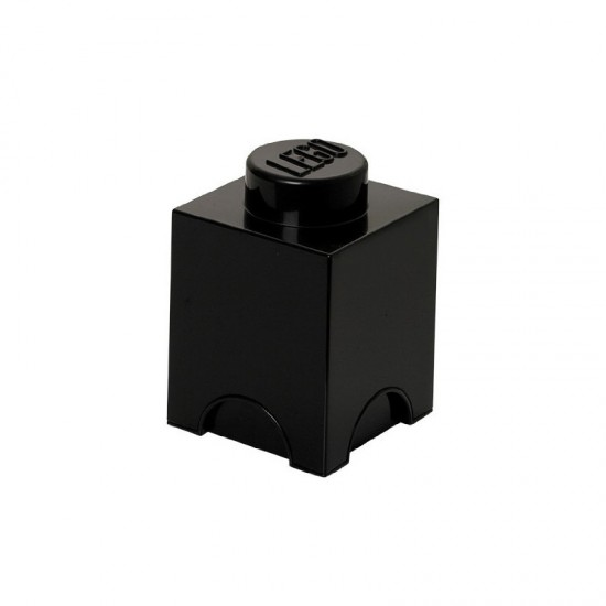 Room Copenhagen LEGO Storage Brick 1 black - RC40011733