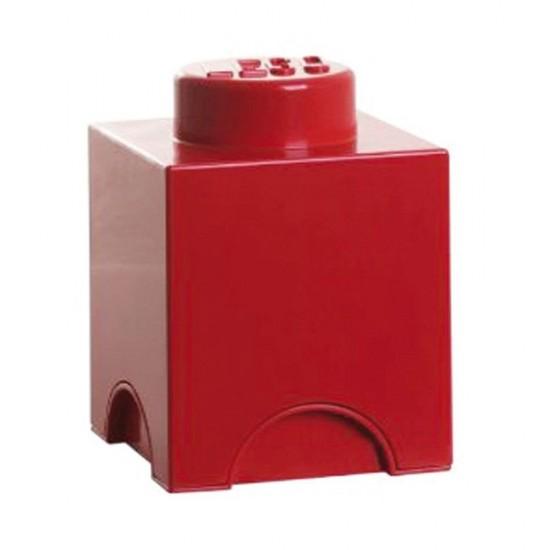 Room Copenhagen LEGO Storage Brick 1 red - RC40011730