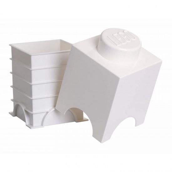 Room Copenhagen LEGO Storage Brick 1 white - RC40011735