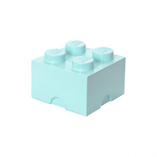 Room Copenhagen LEGO Storage Brick 4 aqua - RC40031742