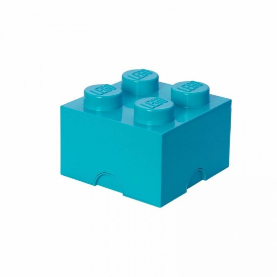 Room Copenhagen LEGO Storage Brick 4 azur - RC40031743