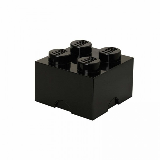 Room Copenhagen LEGO Storage Brick 4 black - RC40031733