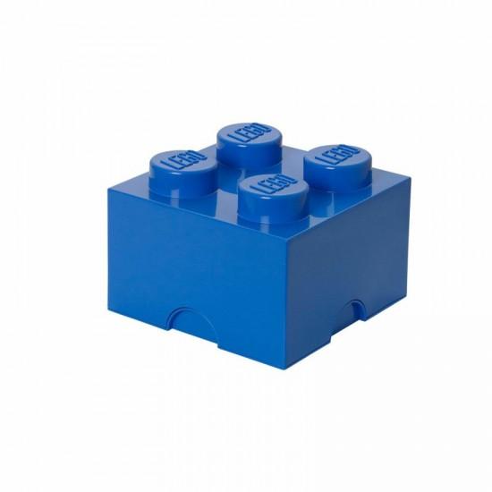 Room Copenhagen LEGO Storage Brick 4 blue - RC40031731