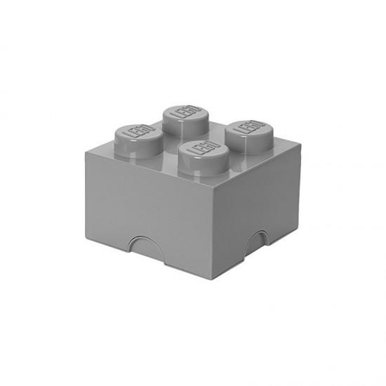 Room Copenhagen LEGO Storage Brick 4 grey - RC40031740