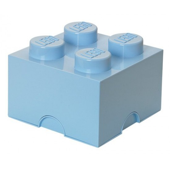 Room Copenhagen LEGO Storage Brick 4 light blue - RC40031736