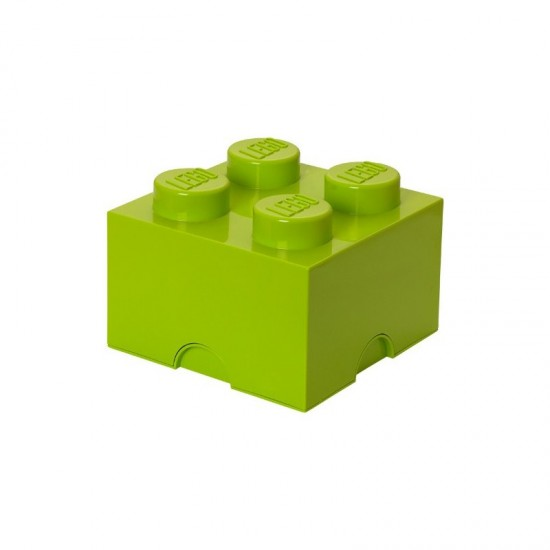 Room Copenhagen LEGO Storage Brick 4 light green - RC40031220