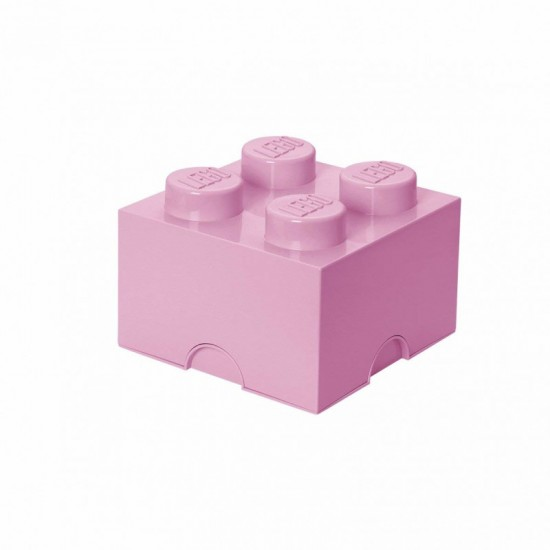Room Copenhagen LEGO Storage Brick 4 light pink - RC40031738