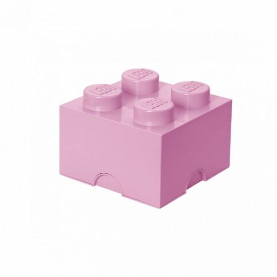 Room Copenhagen LEGO Storage Brick 4 light pink - RC40031738