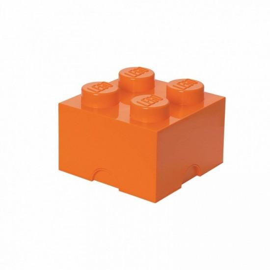 Room Copenhagen LEGO Storage Brick 4 orange - RC40031760