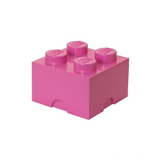 Room Copenhagen LEGO Storage Brick 4 pink - RC40031739