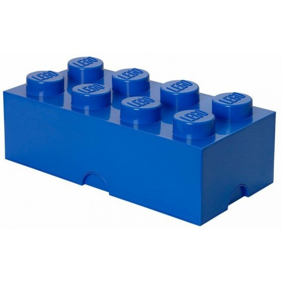 Room Copenhagen LEGO Storage Brick 8 blue - RC40041731