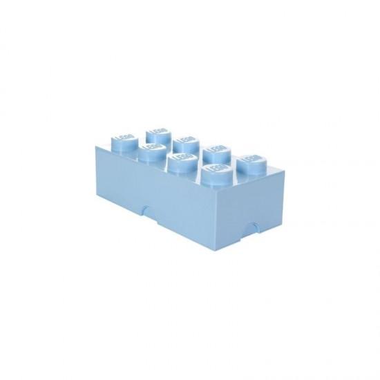 Room Copenhagen LEGO Storage Brick 8 light blue - RC40041736