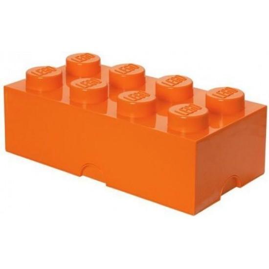 Room Copenhagen LEGO Storage Brick 8 orange - RC40041760