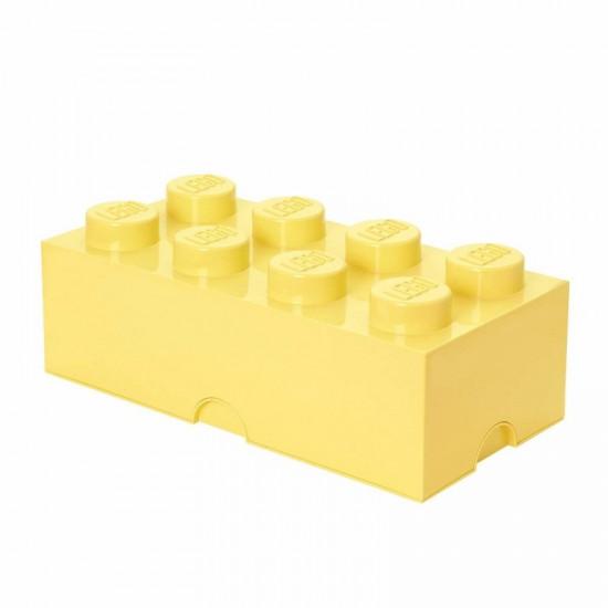 Room Copenhagen LEGO Storage Brick 8 pastellyellow - RC40041741