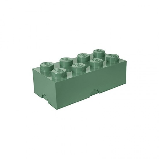 Room Copenhagen LEGO Storage Brick 8 sand green - RC40041747