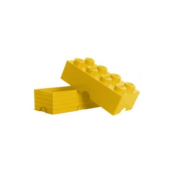 Room Copenhagen LEGO Storage Brick 8 yellow - RC40041732