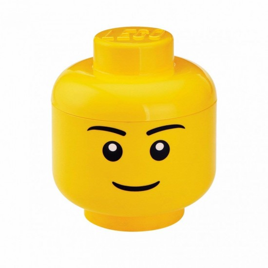 Room Copenhagen LEGO Storage Head Boy, big - RC40321724