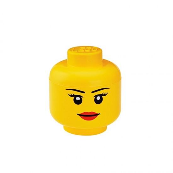 Room Copenhagen LEGO Storage Head Girl, big - RC40321725