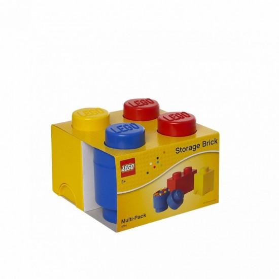 Room Copenhagen LEGO Storage Multi pack bunt 3x P - RC40140001