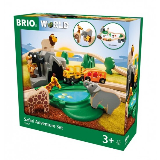 BRIO WORLD Safari Adventure Set(33960)
