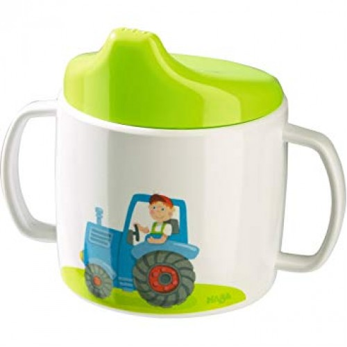 HABA  Learn-to-Drink Cup Tractor(302818)