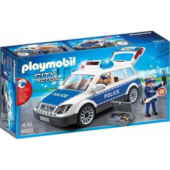 Playmobil Περιπολικό όχημα με φάρο και σειρήνα - 6920