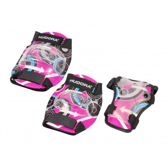HUDORA Protectors set Pink Style Gr. S  83343