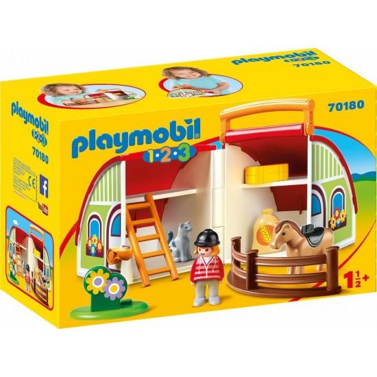 Playmobil 123 My Driving Horse Farm 70180