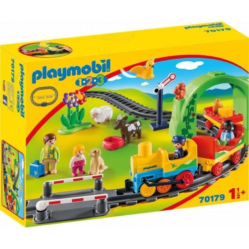 PLAYMOBIL 123 My First Railway 70179